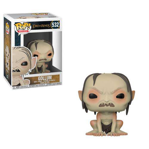 Senhor dos Anéis Hobbit Boneco Pop Funko Gollum #532