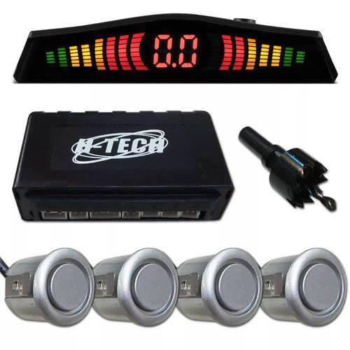 Sensor de Estacionamento Prata 18mm