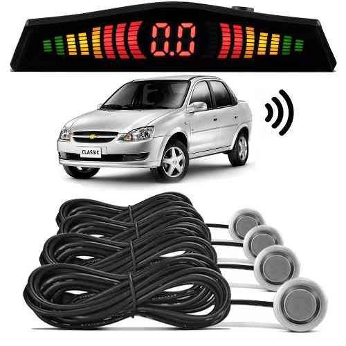 Sensor de Estacionamento Ré Corsa Classic Prata Switchblade