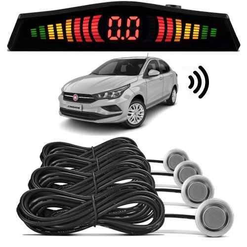Sensor de Estacionamento Ré Fiat Cronos 2018 Prata Bari