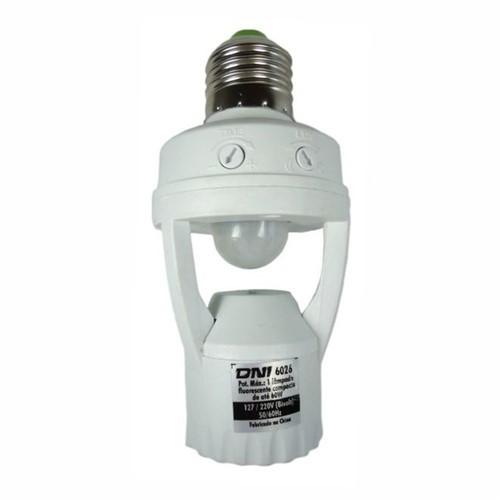 Sensor de Presença Automático para Teto com Soquete de Lâmpada DNI