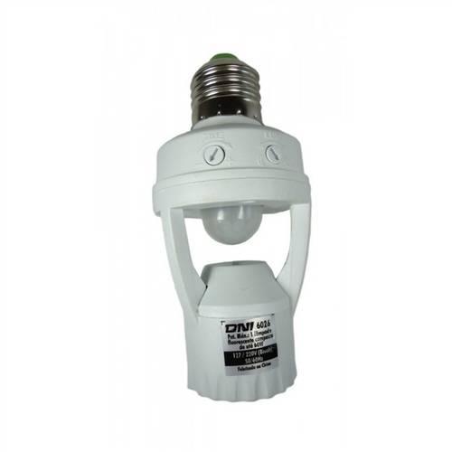 Sensor de Presenca e Iluminacao Fotocelula para Lampada Soquete Key West