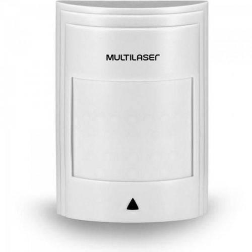 Sensor Ir Infra Passivo Pet 18kg Duplo Fio Se410 Branco Multilaser