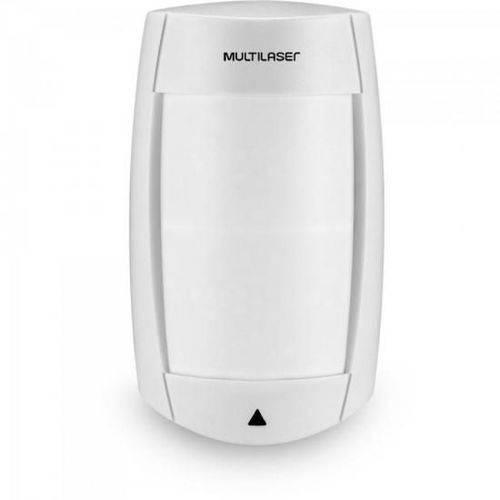 Sensor Ir Infra Passivo Pet 18kg Duplo Fio Se411 Branco Multilaser