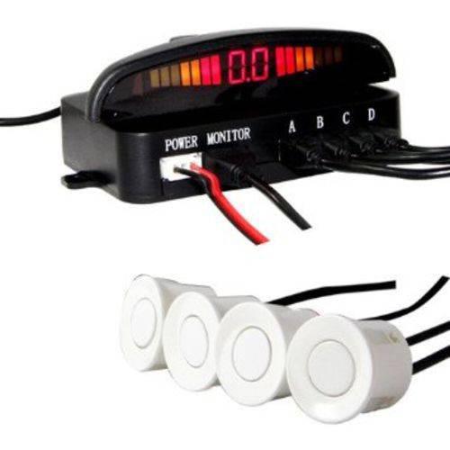 Sensor Ré 4 Pontos Kits 1 Branco, 2 Prata e 1 Preto