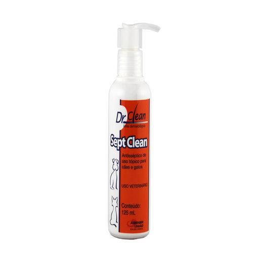 Sept Clean 125ml Shampoo Dermatológico Cães e Gatos Dr. Clean - Agener União
