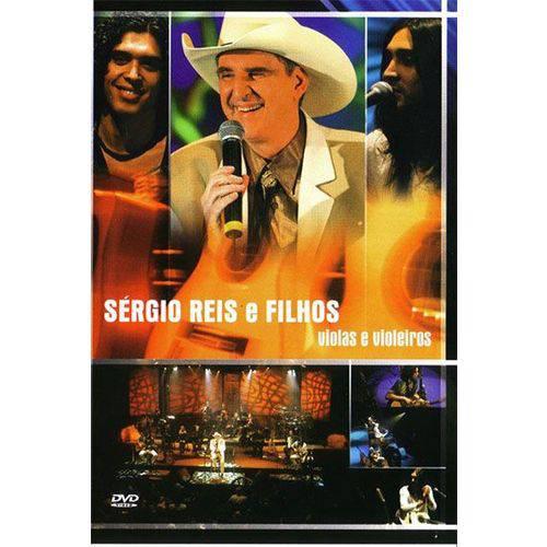 Sérgio Reis & Filhos - Violas e Violeiros - DVD