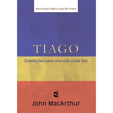 Série Estudo Bíblico John Macarthur Tiago