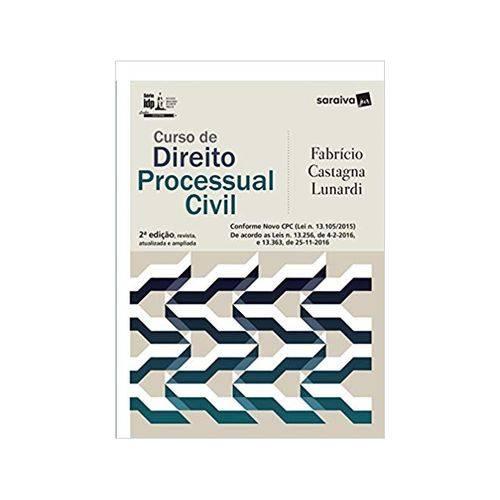 Série Idp - Curso de Direito Processual Civil 2ªed. - Saraiva