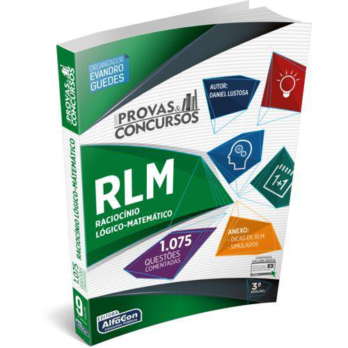 Série Provas & Concursos - Raciocínio Lógico 3ª Ed.