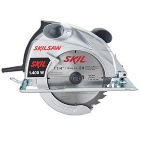 """Serra Circular 7 1/4"""" 1400W - 5401 - Skil - 110V"""