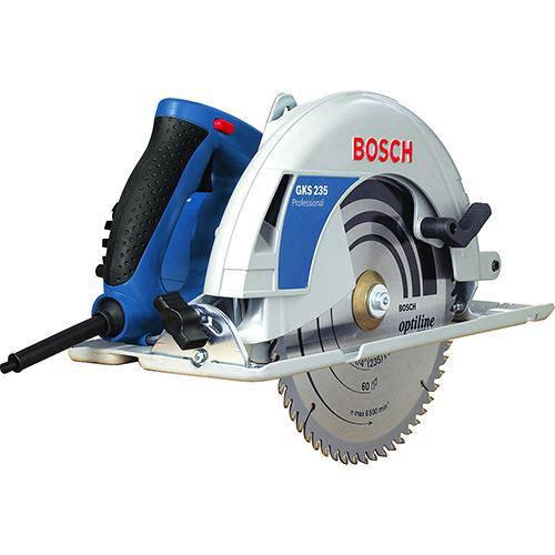 Serra Circular 91/4 Pol Gks 235 2100w Bosch - 110 V