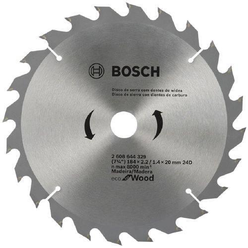 Serra Circular Bosch 7.1/4 Linha Eco 60 Dentes para Madeira