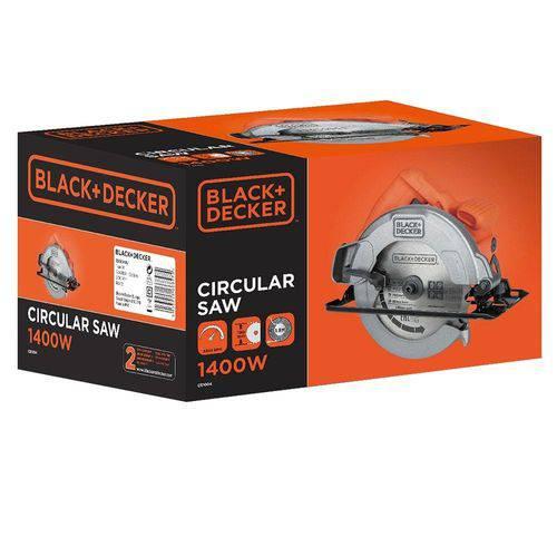 Serra Circular Cs1004 1400w 7.1/4 - Black & Decker