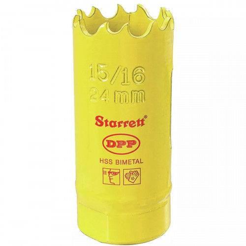 """Serra Copo 024mm Bimetal - 15/16"""" Dh1056 Starrett"""
