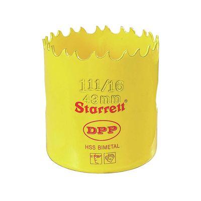 """Serra Copo Bi-Metal 1.11/16"""" 43mm STARRETT DH1116 DH1116"""