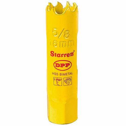 Serra Copo Bi-Metal 5/8'' - 16mm Starrett DH0058 DH0058
