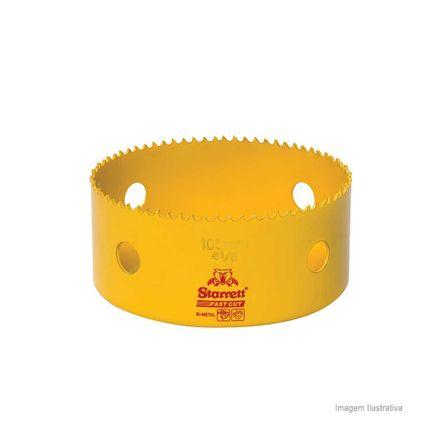 Serra Copo Bi-metal Fast Cut 105mm Amarela Starret