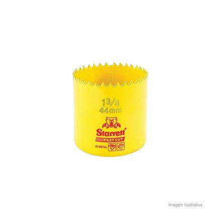 Serra Copo Bi-metal Fast Cut 44mm Amarela Starret Serra Copo Bi-metálica 44mm Amarela Starret