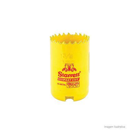 Serra Copo Bi-metal Fast Cut 35mm Amarela Starret