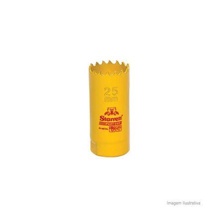 Serra Copo Bi-metal Fast Cut 25mm Amarela Starret