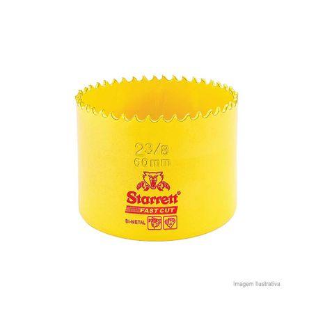 Serra Copo Bi-metal Fast Cut 60mm Amarela Starret