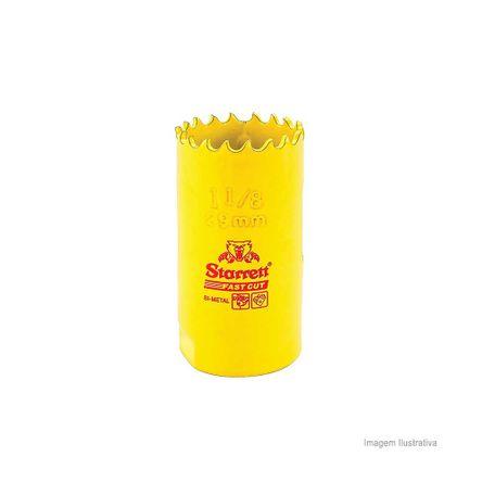 Serra Copo Bi-metal Fast Cut 29mm Amarela Starret