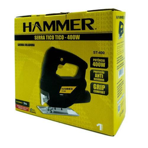 Serra Tico Tico 400w Madeira Alumínio Aço Hammer 220v ST400