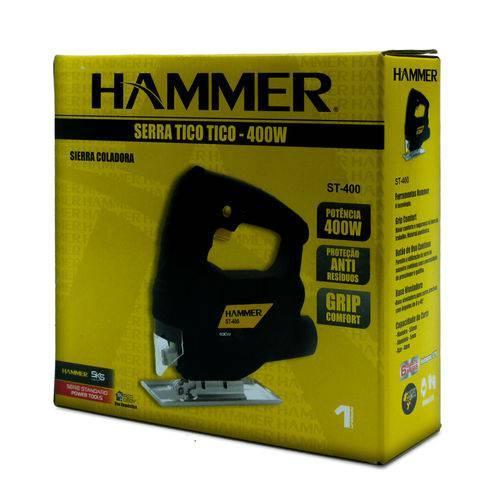 Serra Tico Tico 400w Madeira Alumínio Aço Hammer 127v ST400