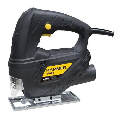 Serra Tico Tico 400w Madeira Alumínio Aço Hammer St400 110-v