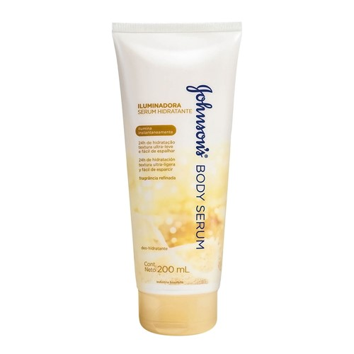 Serum Hidratante Johnson's Body Serum Iluminadora 200ml