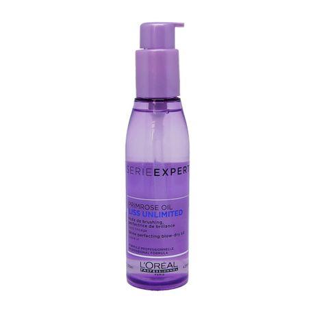 Sérum Potencializador de Brilho L'Oréal Professionnel Liss Unlimited - Blow Dry Oil 125ml