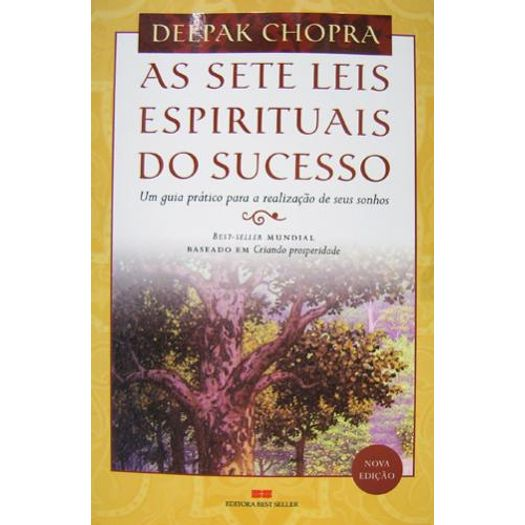 Sete Leis Espirituais do Sucesso, as - Best Seller