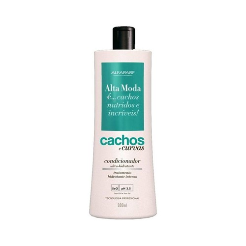 Shampoo Alta Moda Cachos e Curvas 300ml