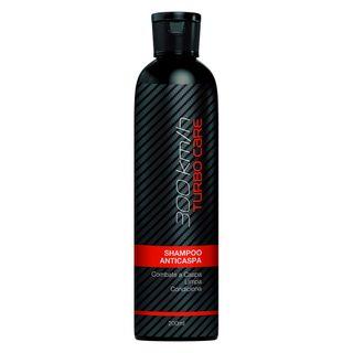 Shampoo Anticaspa 300 Km/h Turbo Care - 200 Ml
