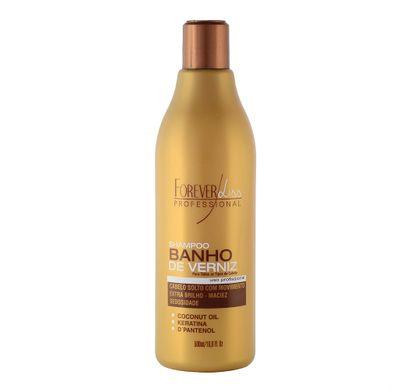 Shampoo Banho de Verniz 500ml - Forever Liss Professional