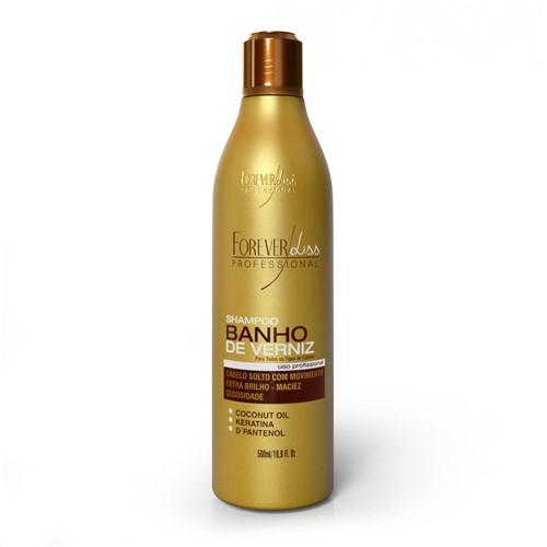 Shampoo Banho de Verniz Extra Brilho Forever Liss 500ml