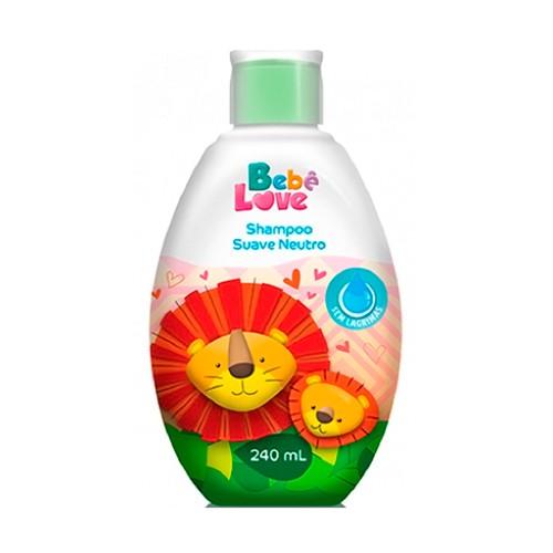 Shampoo Bebê Love Suave Neutro 240ml