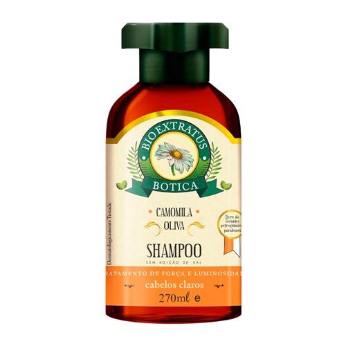 Shampoo Bio Extratus Botica Camomila com 270ml