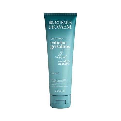 Shampoo Bio Extratus Homem Cabelo Grisalhos