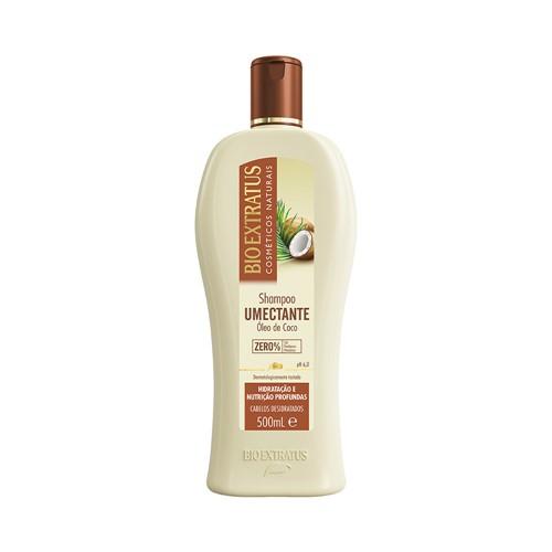 Shampoo Bio Extratus Umectante Óleo de Coco 500ml
