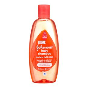 Shampoo Cachos Definidos Johnsons Baby 200mL