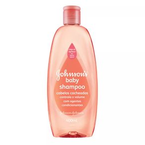 Shampoo Cachos Definidos Johnson's Baby 400mL