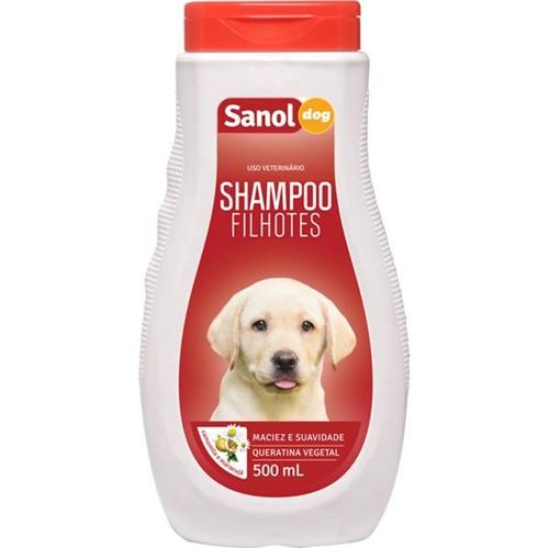 Shampoo Cao Sanol 500ml Filhote