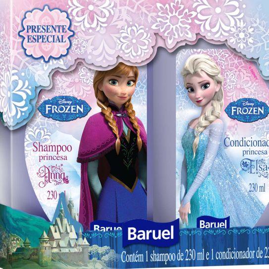 Shampoo + Condicionador Disney Frozen Princesas 230ml