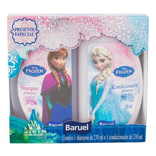 Shampoo + Condicionador Infantil Disney Frozen com 230ml Cada