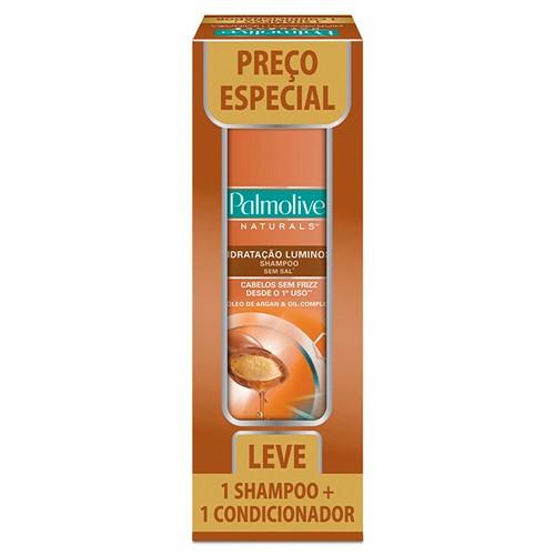 Shampoo + Condicionador Palmolive Naturals Hidratação Luminosa Preço Especial 350ml Cada