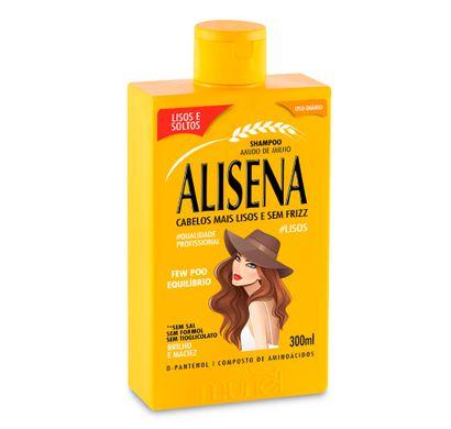 Shampoo de Amido de Milho Alisena 300ml - Muriel