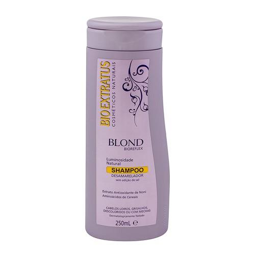 Shampoo Desamarelador Bio Extratus Blond Bioreflex Sem Sal com 250ml