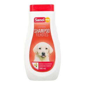 Shampoo Dog Filhotes Sanol 500mL